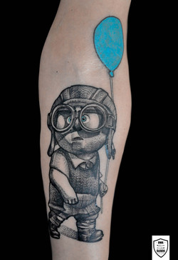 tatuaż Odlot