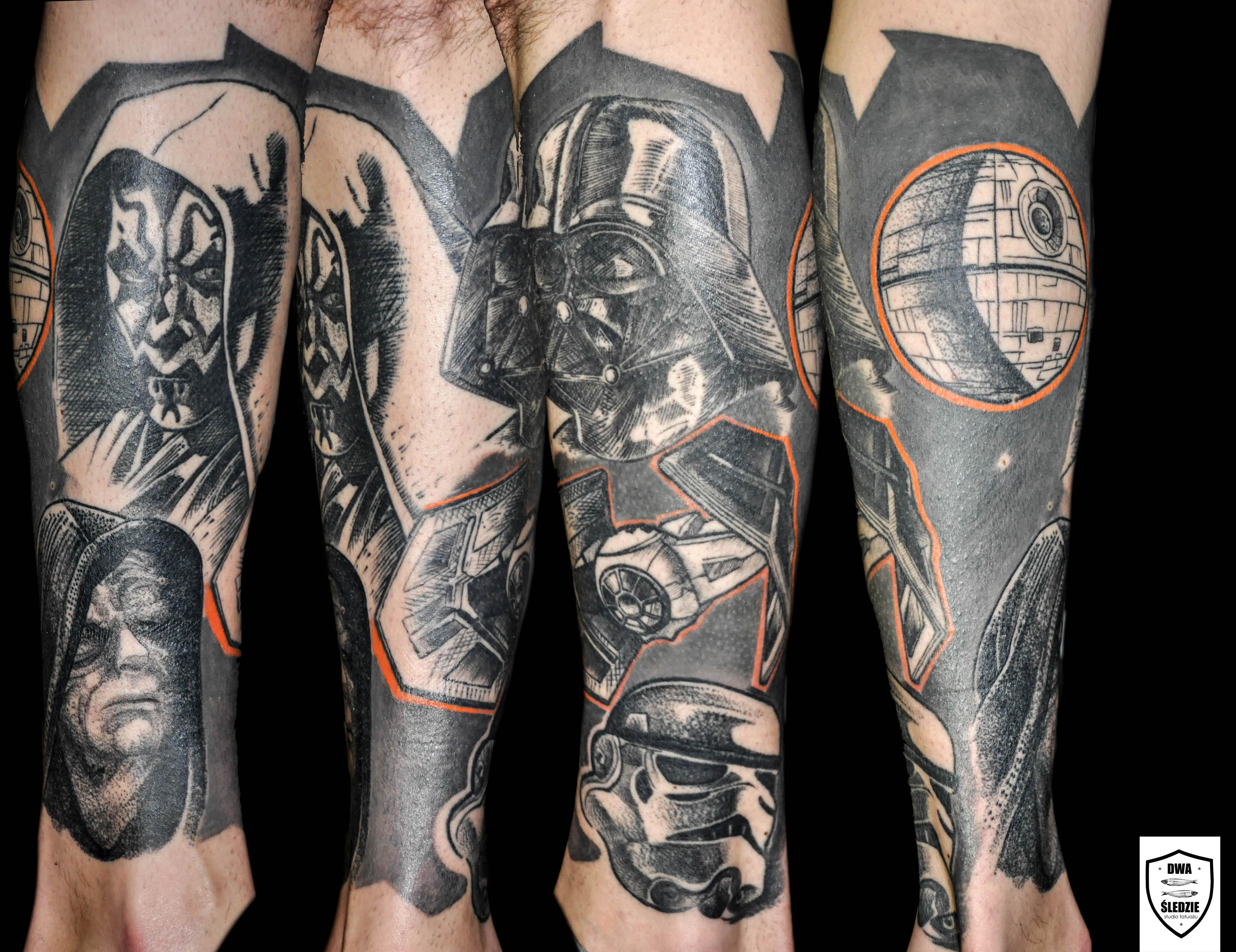 tatuaż Star Wars