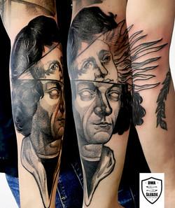 tatuaż Kopernik