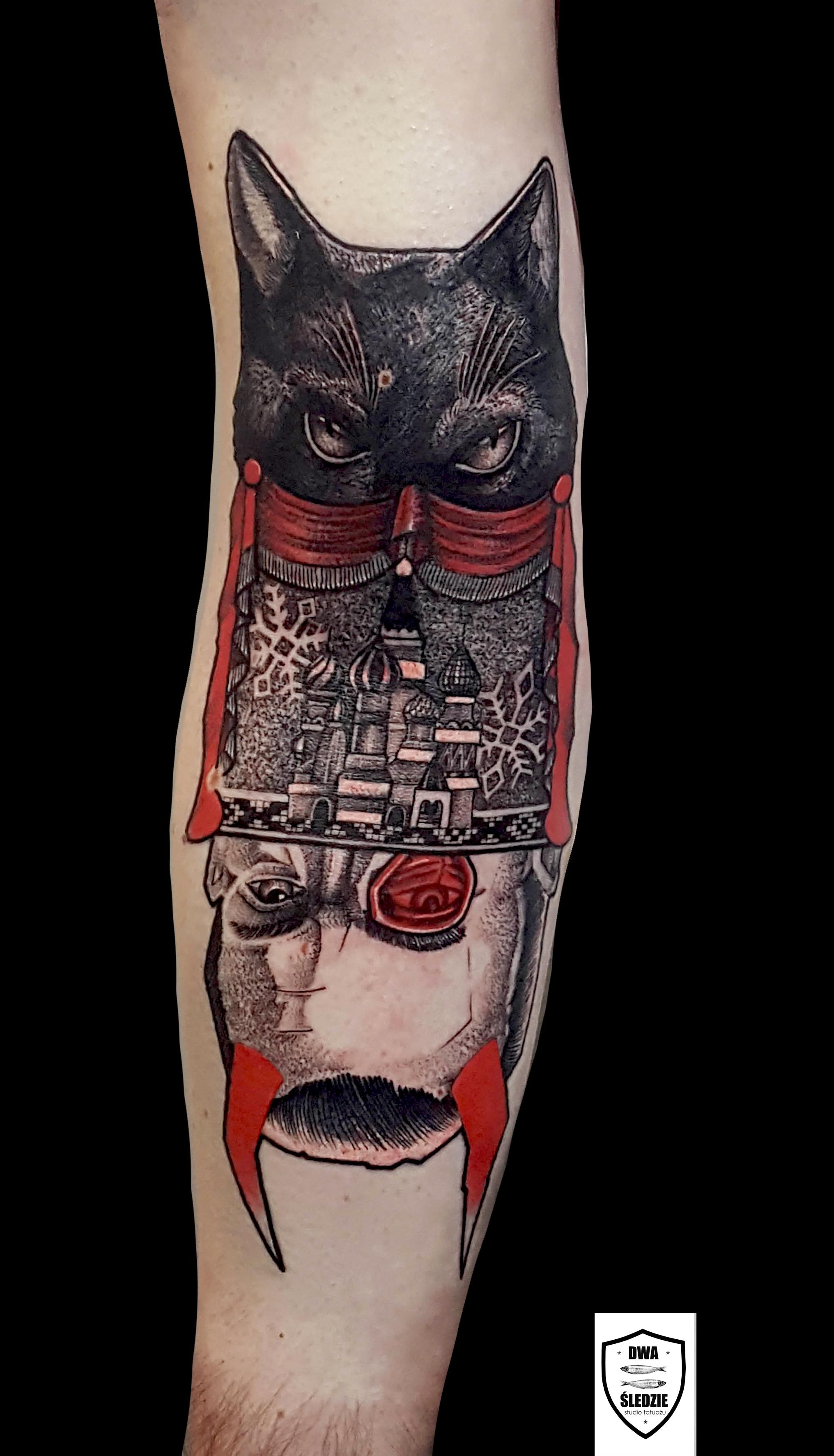 tatuaż Mistrz i Małgorzata