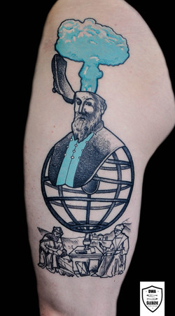 tatuaż Nostradamus