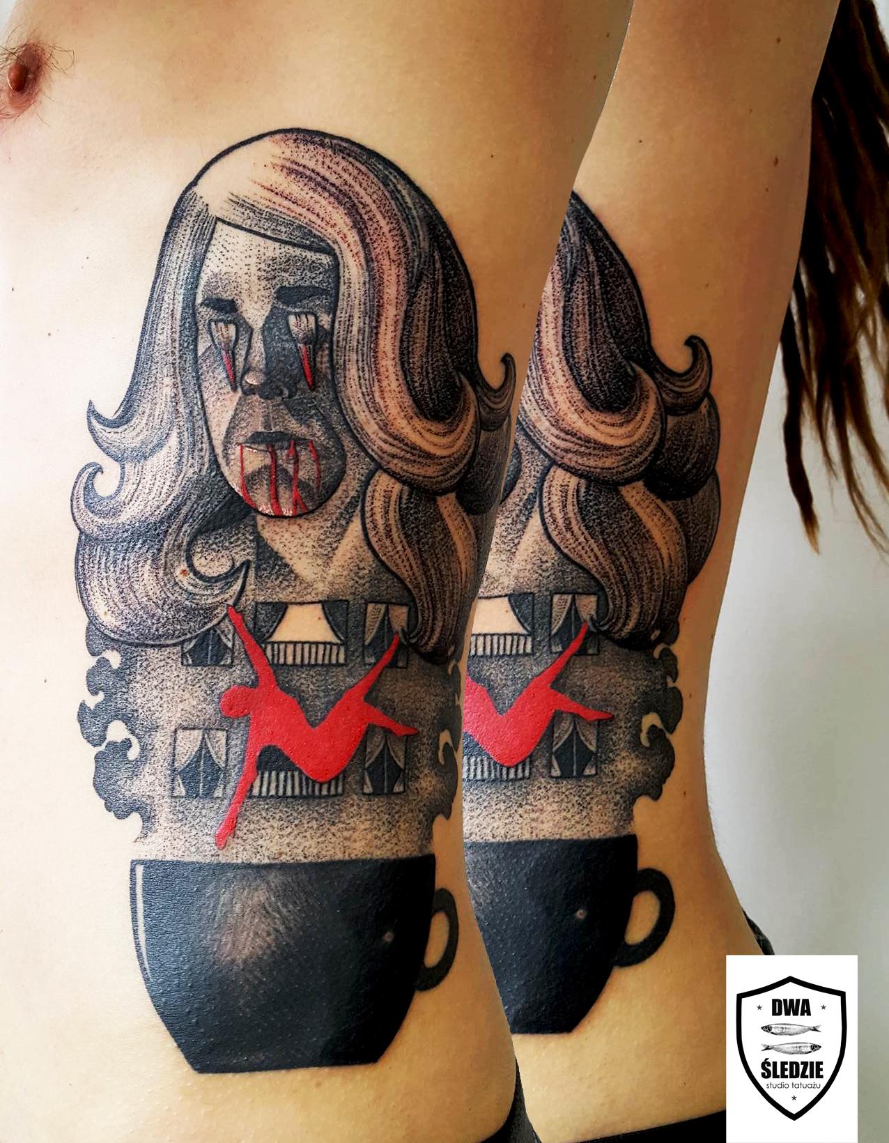 tatuaż Lokator
