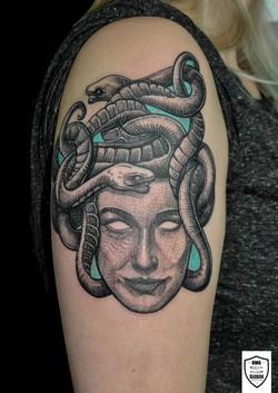 tatuaż Medusa