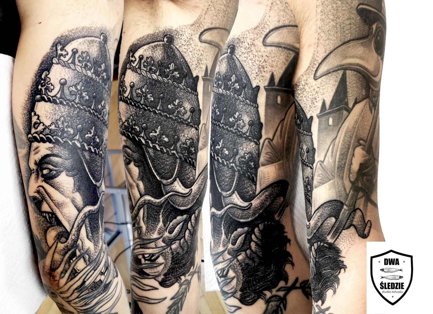 tatuaż graficzny