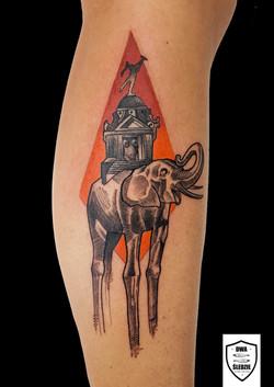 tatuaż Dali