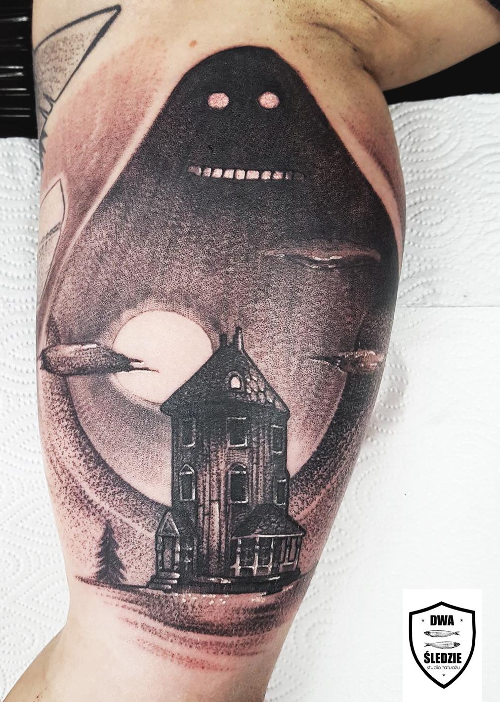 tatuaż Buka, Muminki