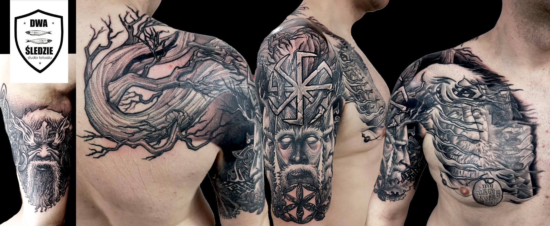 tatuaż słowiański