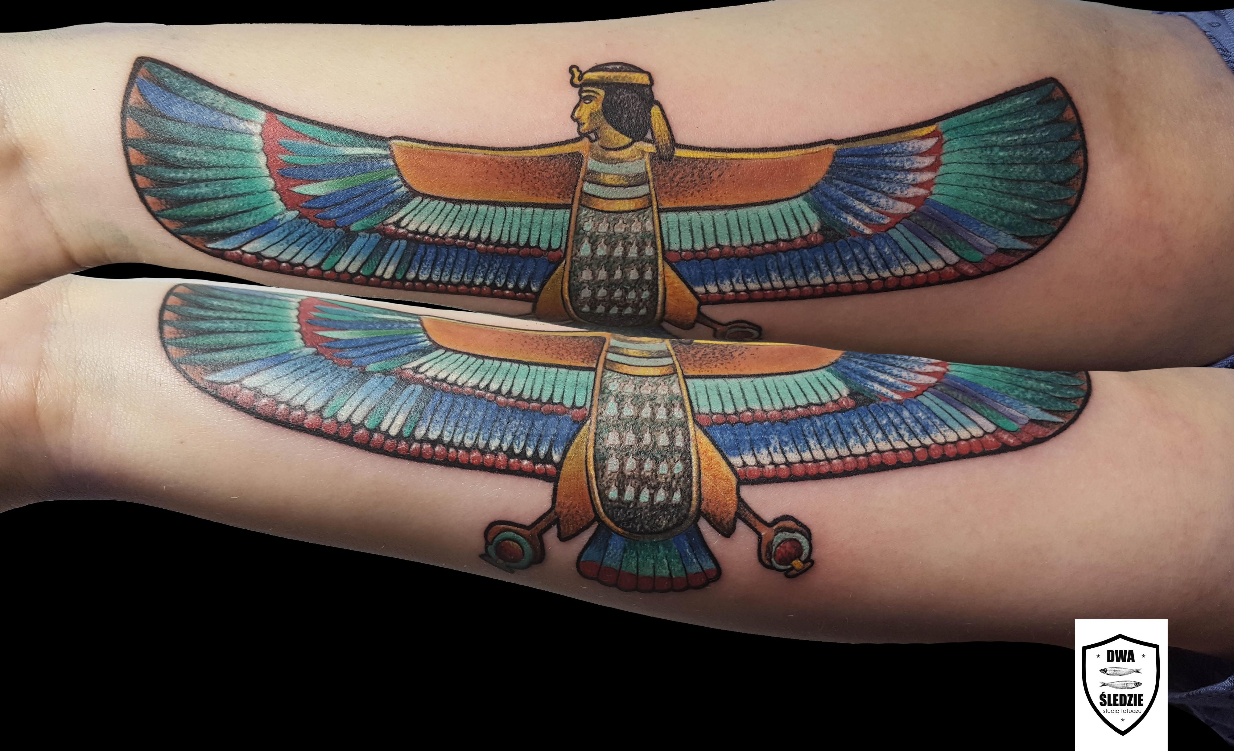 tatuaż Ba