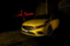 Mercedes A35 Herzschlag Fahrlehrerin Fah