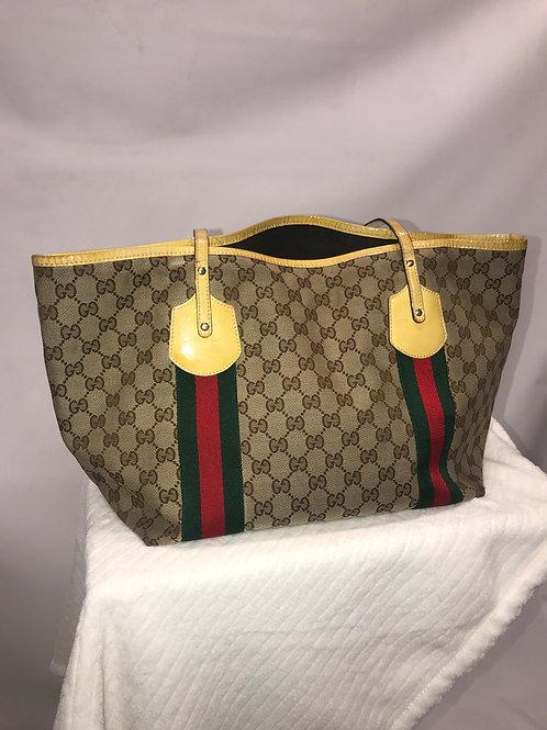 Gucci Handbag Yellow Medium