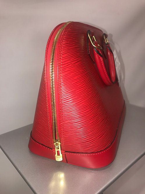 Louis Vuitton Alma MM Red