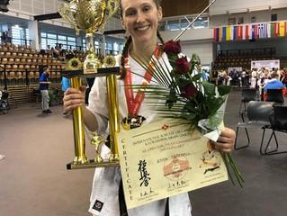 Congratulations Sensei Emma