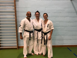 Congratulations to our new Sensei