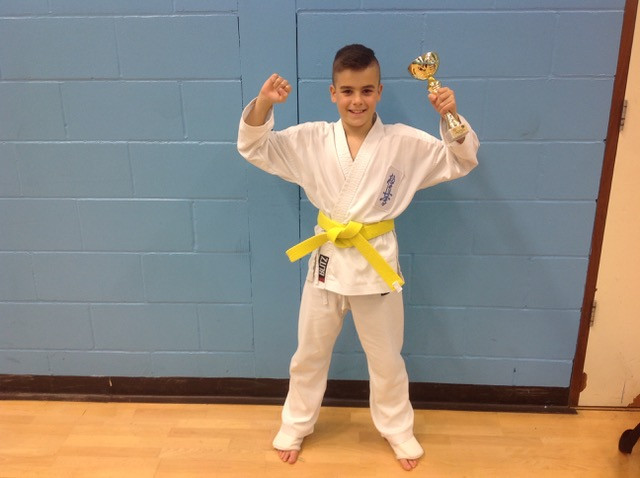 Congratulation to Brandon who took first place at the Greg Hitchings Memorial Cup on 28th October 2018. We are all proud of you and are looking forward to your next competition.