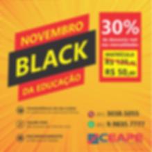 Campanha Novembro Black CEAPE - Insta.pn