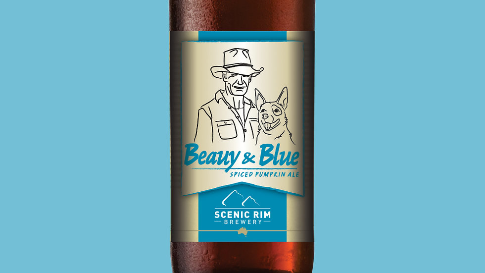 Beauy & Blue Spiced Pumpkin Ale