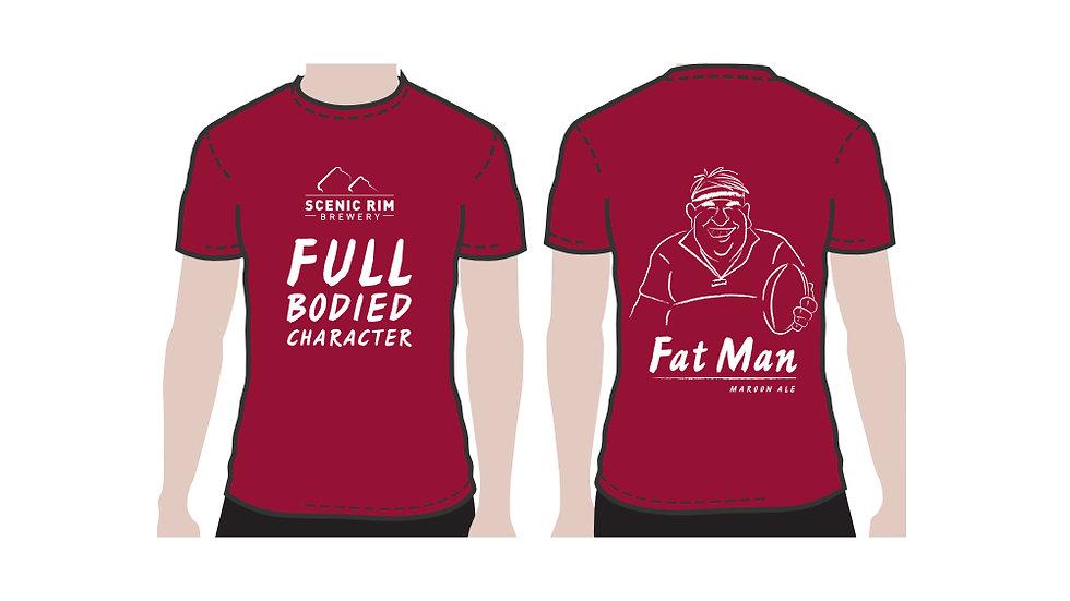 T-shirt Fat Man