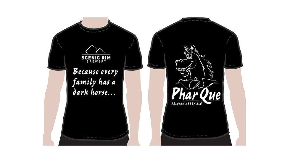 T-shirt Phar Que Black