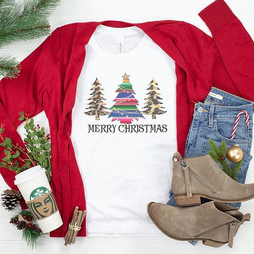 Merry Christmas Trees I