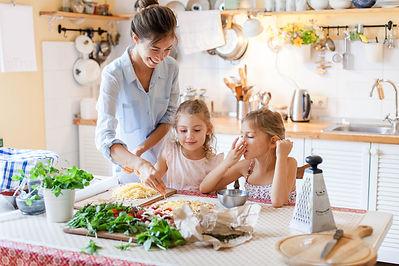 bigstock-Family-Are-Cooking-Italian-Piz-