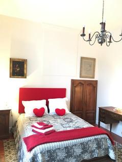 chambre rouge vue 2