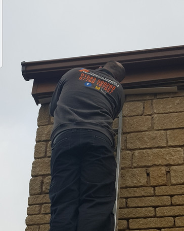 Fixing Hole In Soffit