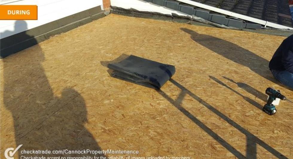 Firestone Flat Roof Decking
