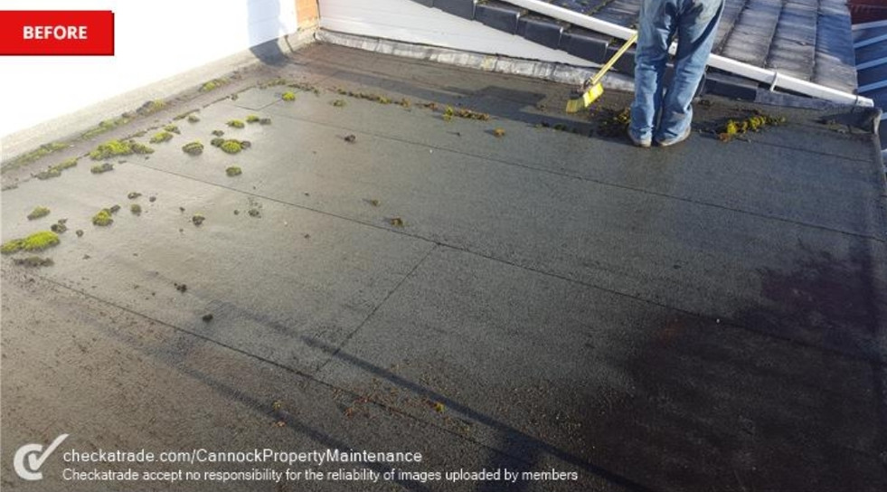 Prepping Flat Roof