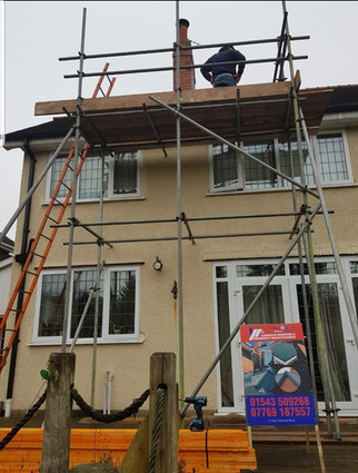 Part Replacement Of Roof
