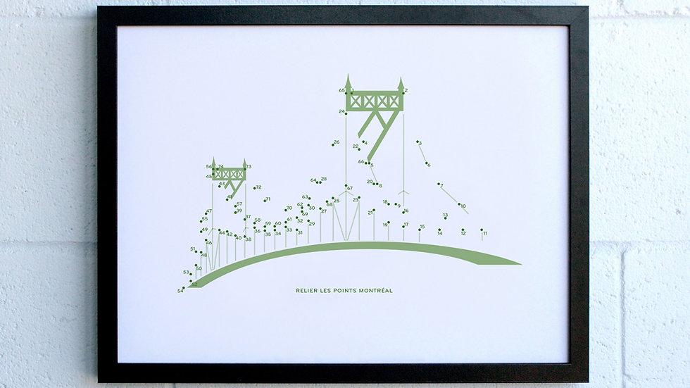 Affiche / Poster—Pont Jacques-Cartier