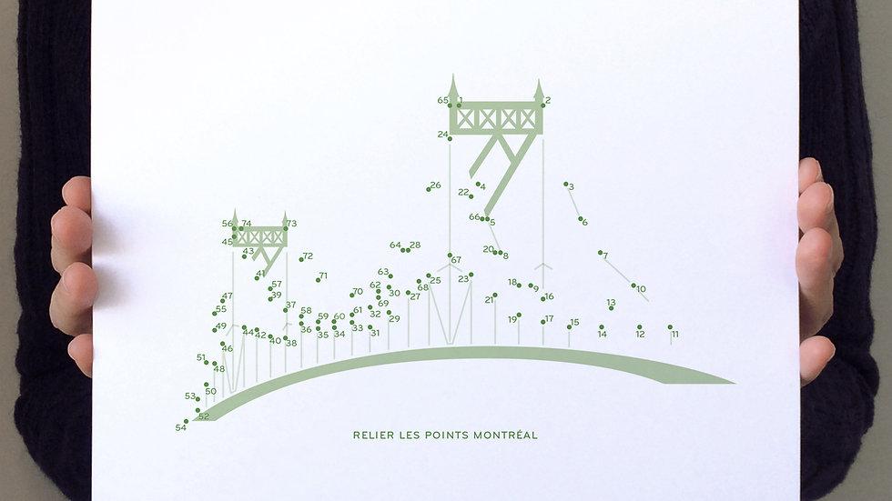 Affichette / Mini Poster—Pont Jacques-Cartier