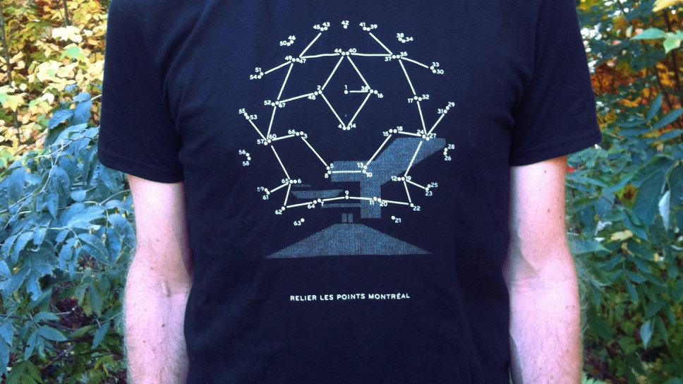 T-Shirt Expo ' 67 Biosphère—Hommes/Men