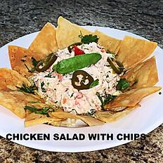 Chips Chicken  Salad
