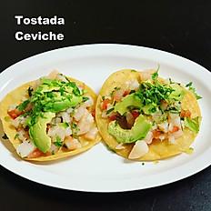 Fish Ceviche Tostada