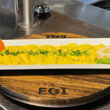 Tiradito al Aji Amarillo Fish 17.99 Shrimp 19.99