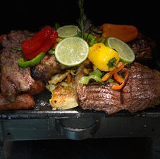 Meat Lover Parrillada and 2 sides 79.99
