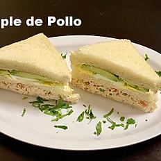 Triple Chicken Sandwich
