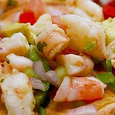 Ceviche a la Mexicana Fish