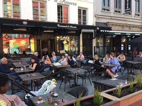 Carrousel d'Anvers, Grote markt, Antwerpen