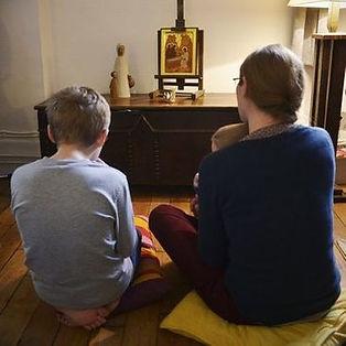 gebed in huiselijke kring
