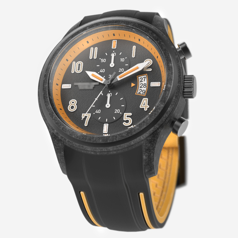 Copie de chrono orange