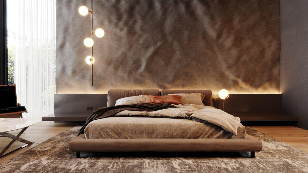 Interior design 3D renderings