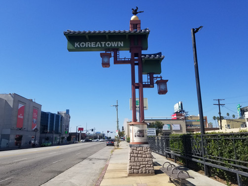 Welcome to Koreatown