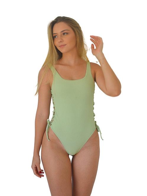 Body Details Verde Canelado