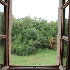 Vue depuis la chambre du Magistrat - The view from the Magistrate's Room