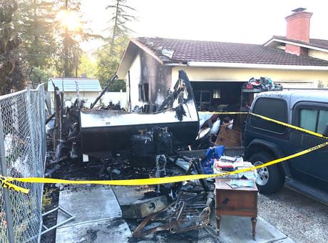 Trailer Fire Victim Identified