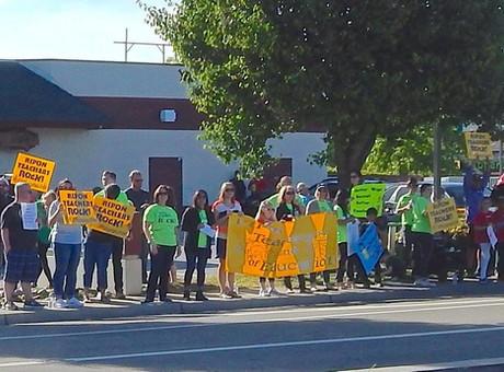 Teachers Looking At Possible Strike