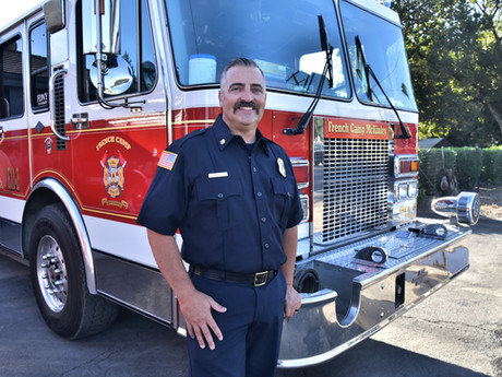 Ripon Fire Battalion Chief Badged As Permanent Fire Chief for French Camp