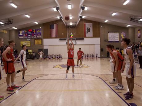 RHS Boys Varsity Basketball Team Against Escalon