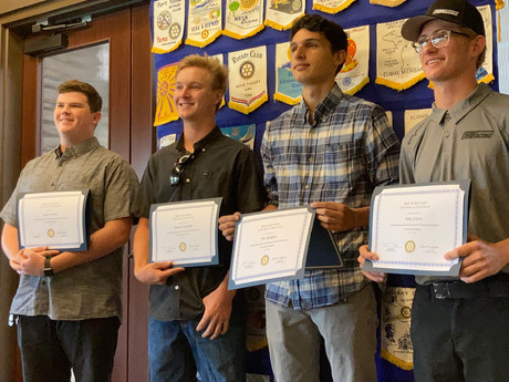 Trade School Scholarships Given to Six High School Grads